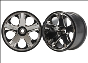 FR All-Star 2.8 Black Chrome Wheels (2): Nitro