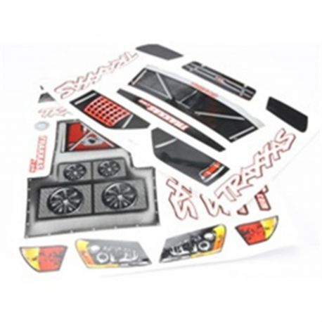 Traxxas 5813 Decal Sheet: Slash