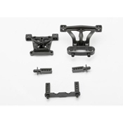 Traxxas 7015 Front & Rear Body Mounts: 1/16