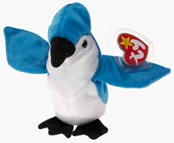Ty Beanie Baby - Rocket the Blue Jay