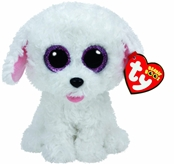 TY Beanie Boos - Pippie The White Dog (Small)