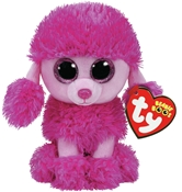 TY Beanie Boos - Patsy the Pink Poodle (Small)