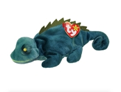 Ty Beanie Babies Iggy the Iguana Green