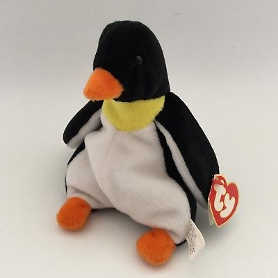 Ty Beanie Babies Waddle the Penguin
