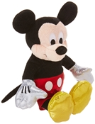 Mickey Mouse Sparkle Beanie Baby (small)