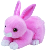 TY Beanie Babies - Walker the Pink Bunny (Small)