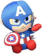 TY Beanies - Captain America (Small)