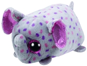 TY Teeny Tys - Trunks the Pink and Grey Elephant
