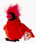 Ty Beanie Babies - Mac the Cardinal