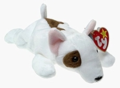Ty Beanie Babies - Butch the Bull Terrier