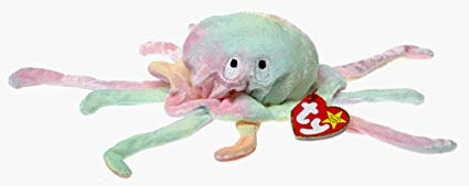 Ty Beanie Babies - Goochy the Jellyfish