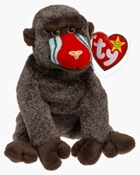Ty Beanie Baby - Cheeks the Baboon