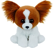 TY Classic - Barks the Brown Dog (Medium)
