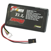 Venom 3000mAh 11.1V Triple Cell 3S 5C LiPo Transmitter Pack: M11, MX3