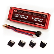 5000mAh 2S 7.4V 40C LiPo Hard Case Stick Pack