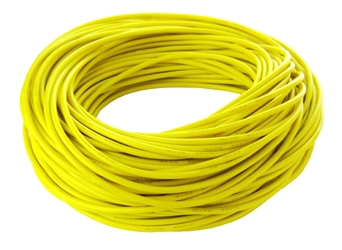 14 Gauge Silicone Wire - Yellow