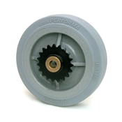 6 Inch BattleKit Robot Wheel - 19-Tooth Sprocket