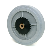 8 Inch BattleKit Robot Wheel - 28-Tooth Sprocket