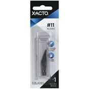 X-Acto No. 11 aX-Acto #11 Fine Point Blade Carded (5), Carded