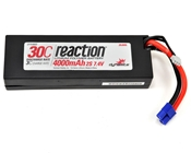 Dynamite Reaction 4000mAh 7.4V 2S 30C LiPoly Hard Case - EC3