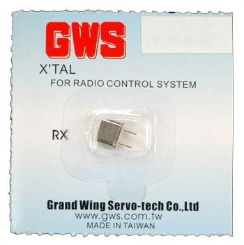 GWS Receiver Crystal channel 68 UM-1 75.550 Mhz