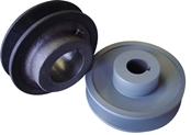 3.75 Inch B-Size Pulley with Hub - 5/8in. bore