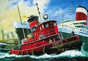 Revell Germany 1/108 Harbour Tug Boat