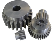 16 Pitch steel spur gear 12 teeth