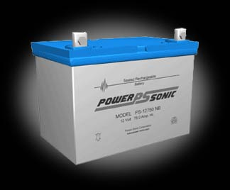 Powersonic PS-12750 SLA 12V 75.0Ah Battery