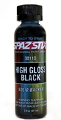 Spaz Stix High Gloss Black Airbrush paint